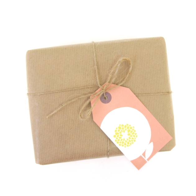 GIFT TAG_Flowerfields pink